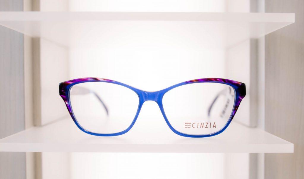 Blue Cinzia Frame