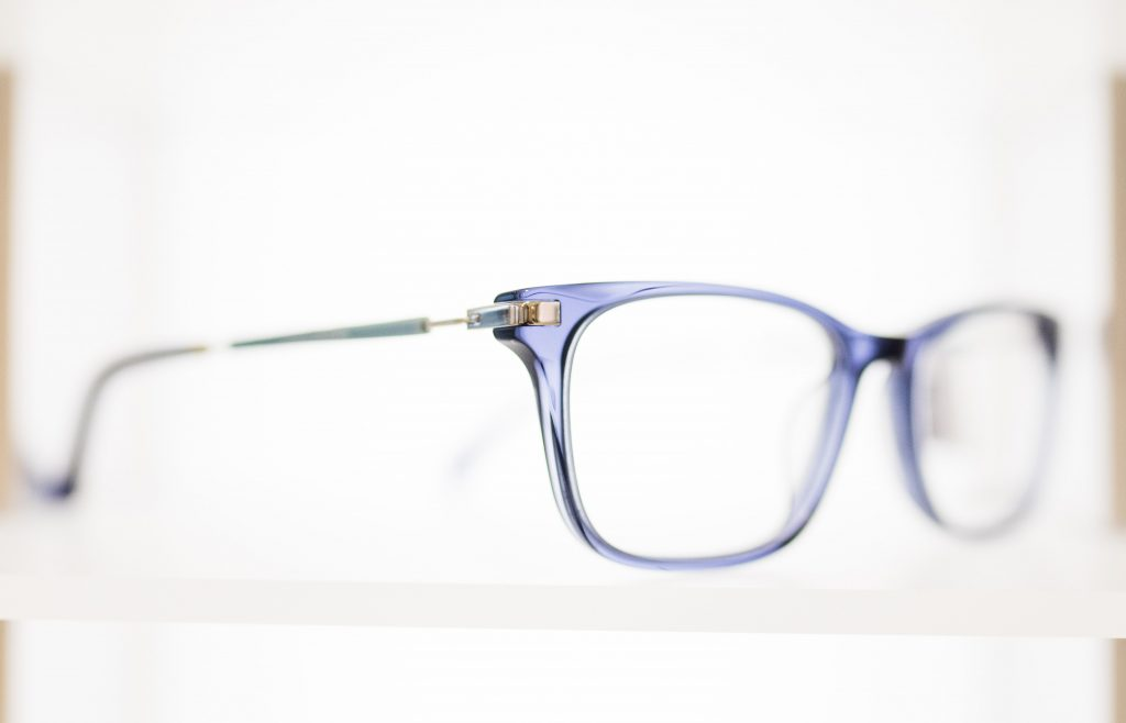 Side View of Calvin Klein Frame